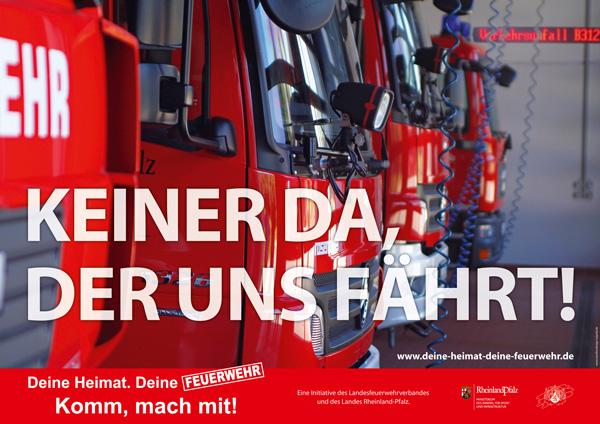 Deine Heimat. deine Feuerwehr - komm mach mit!